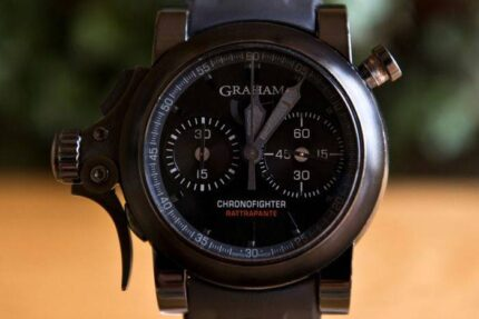Graham Trigger Back in Black ChronoFighter Rattrapante