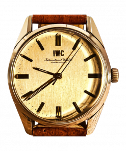 IWC Two Tone GoldSteel International Watch Company Caliber 89