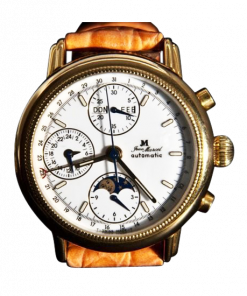 Jean Marcel Automatic Chronograph Gold-Plated 160.145