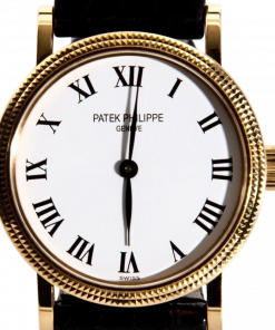 Patek Philippe Calatrava Manual 18K/750 Noram Buckle Buterfly Ref. 4809J Men's