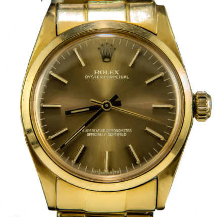 Rolex Oyster Perpetual 67488 18K Solid Gold Mid Size 31mm