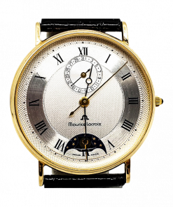 Maurice Lacroix Masterpiece Phases Delune Moonphase Date 14K Solid Yellow Gold
