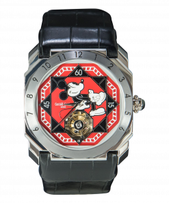 Gérald Genta Tourbillon Octo Retrograde Hour Fantasy Watch Mickey Mouse