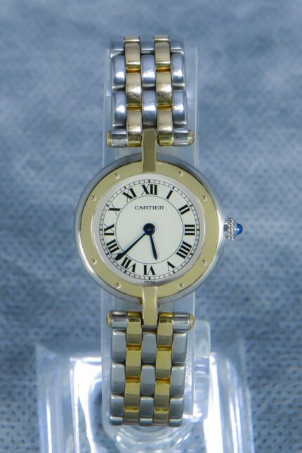 Cartier Panthère Vendome Rondo Two Rows Gold/Steel - Top Condition
