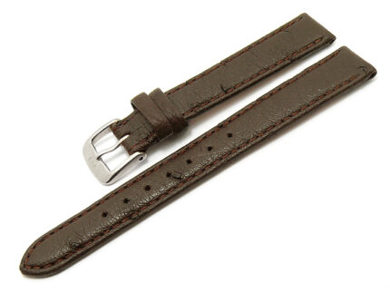 Watch band Hand-made Genuine Ostrich Leather Size lug width 12/14 mm
