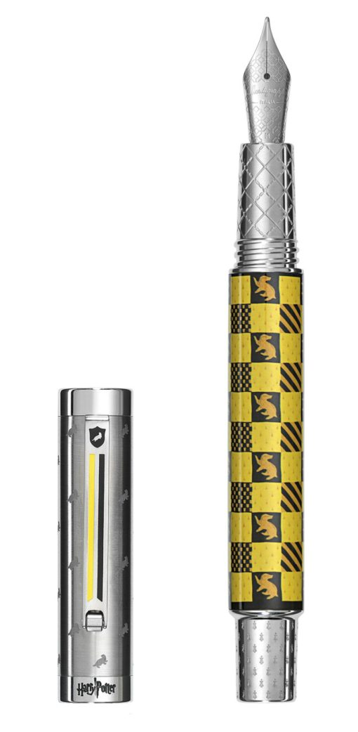 Montegrappa Harry Potter House Colors Hufflepuff Fountain Pen 2