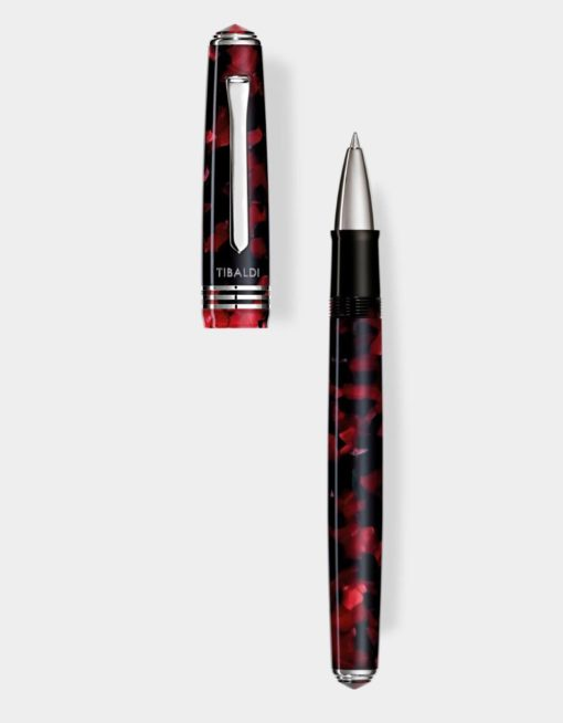 Tibaldi N.60 Rollerball Pen Ruby Red