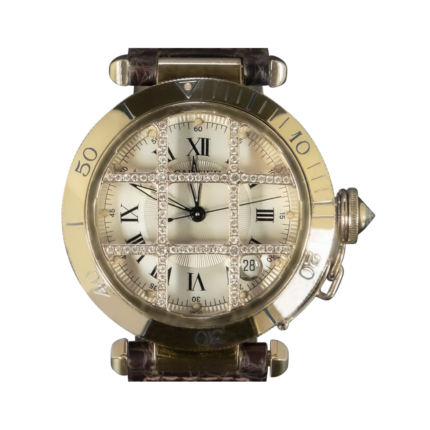 Cartier Pasha 1023 Limited Edition 18K Yellow Gold