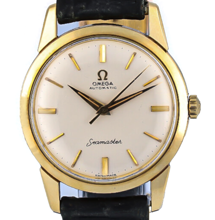 Omega SEAMASTER, VINTAGE DIVER ''SEAL EDITION'' 1960s,  SOLID, YELLOW GOLD, 1470461
