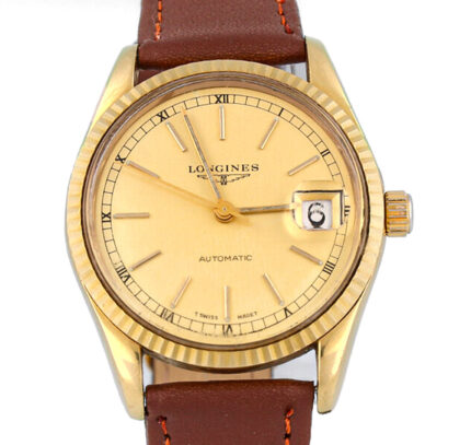 Longines Vintage Automatic 36MM 18K Yellow Gold - Very Rare Model