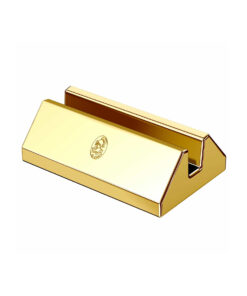 El Casco Desk Card Holder Gold