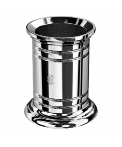 El Casco Pencil Pot Chrome Plated Finish