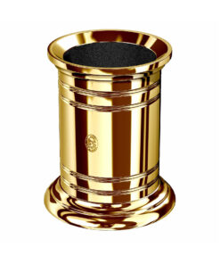 El Casco Pencil Pot Gold Finish