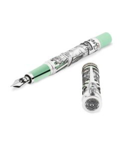 Montegrappa Monopoly Mr. Monopoly Silver Fountain Pen