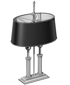 El Casco Desk Lamp Chrome