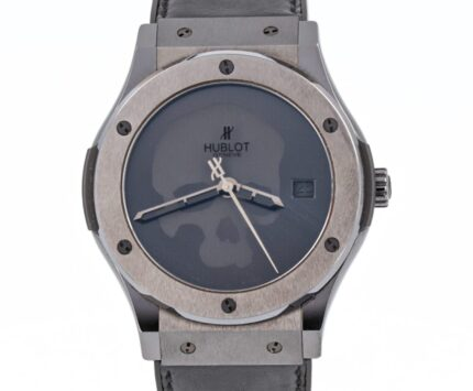 Hublot Ceramic Classic Fusion 42 MM Skull Big Bang Guilloché dial limited to only 100 pieces - 511.CM.1110.VR.PIC12