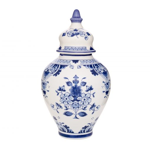 Royal Delft Jar with Lid Blueware Collection