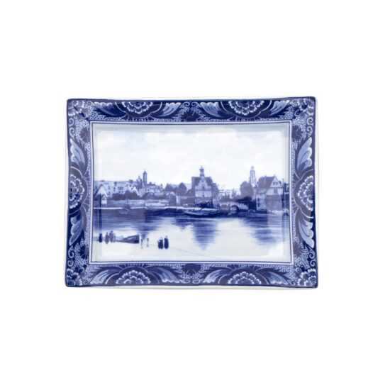 Royal Delft Plate View of Delft Blueware Collection