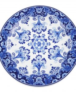 Royal Delft Plate Flower Blueware Collection