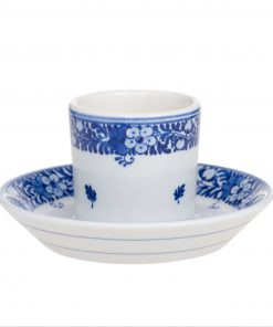 Royal Delft Cup & Saucer (Mocha) The Original Blue Collection