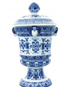 Royal Delft Satyr Vase Flower The Original Blue Collection