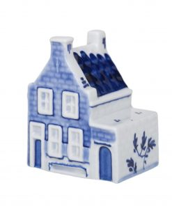 Royal Delft House Vermeer Side Entrance The Original Blue Collection