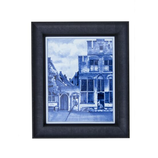 Royal Delft Tile-painting Street Vermeer The Original Blue Collection