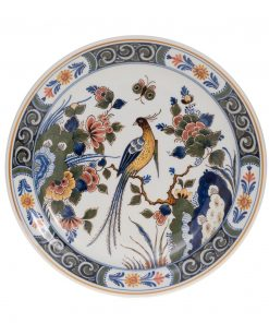 Royal Delft Decorative Plate Bird The Original Blue Collection