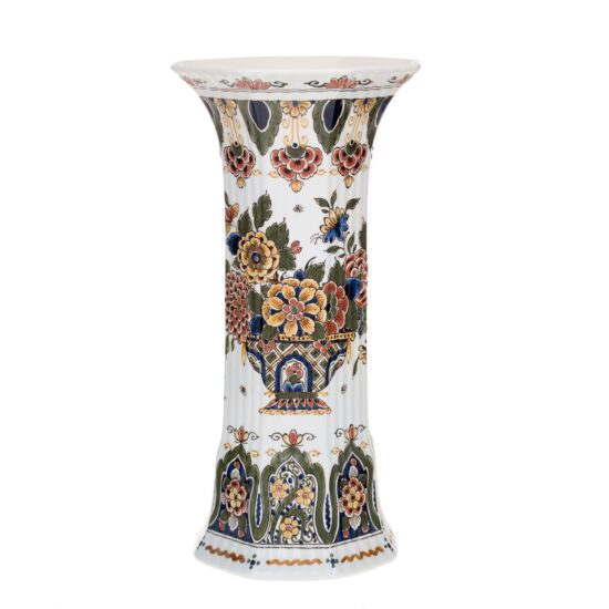 Royal Delft Vase with Floral Pattern The Original Blue Collection