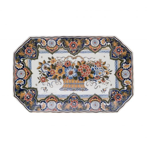 Royal Delft Small Decorative Oval Plate The Original Blue Collection