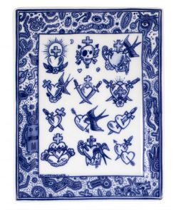 Royal Delft Applique Old School Collection The Original Blue Collection
