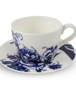 Royal Delft Coffee Cup & Saucer The Original Blue Collection