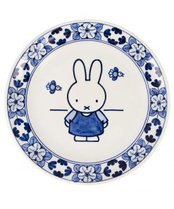 Royal Delft Plate Miffy The Original Blue Collection