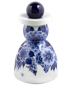 Royal Delft Proud Mary Cobalt Flower The Original Blue Collection