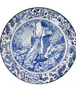 Royal Delft Plate Easter Island The Original Blue Collection