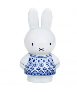 Royal Delft Money Box Miffy The Original Blue Collection