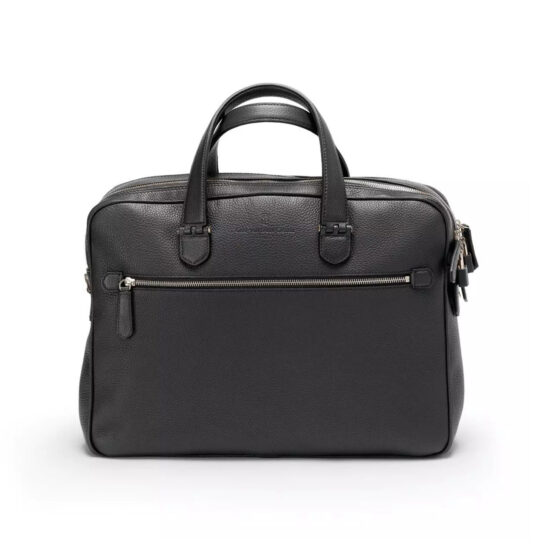 Graf von Faber-Castell Briefcase with Two Compartments Cashmere Black