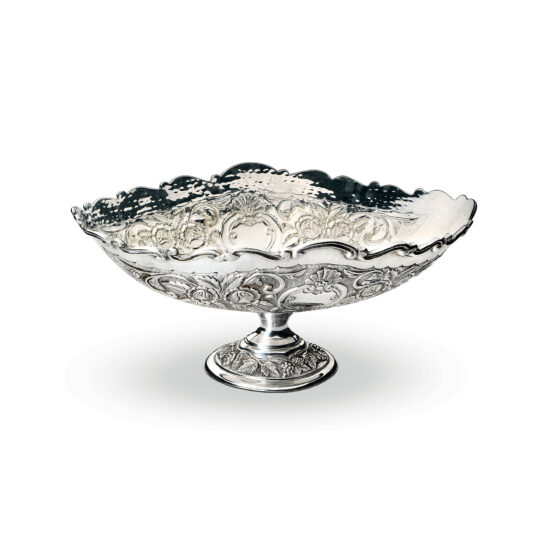 Chinelli Silver Dish with Base