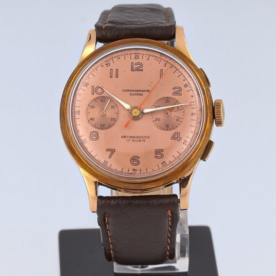 Chronographe Suisse Cie Grande Double Counter Chronograph - 18K Rose Gold