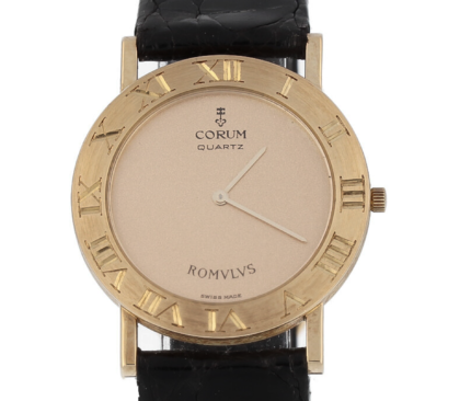 Corum Romvlvs Romulus in 18K Solid Yellow Gold 31mm Suit UP - Top Condition