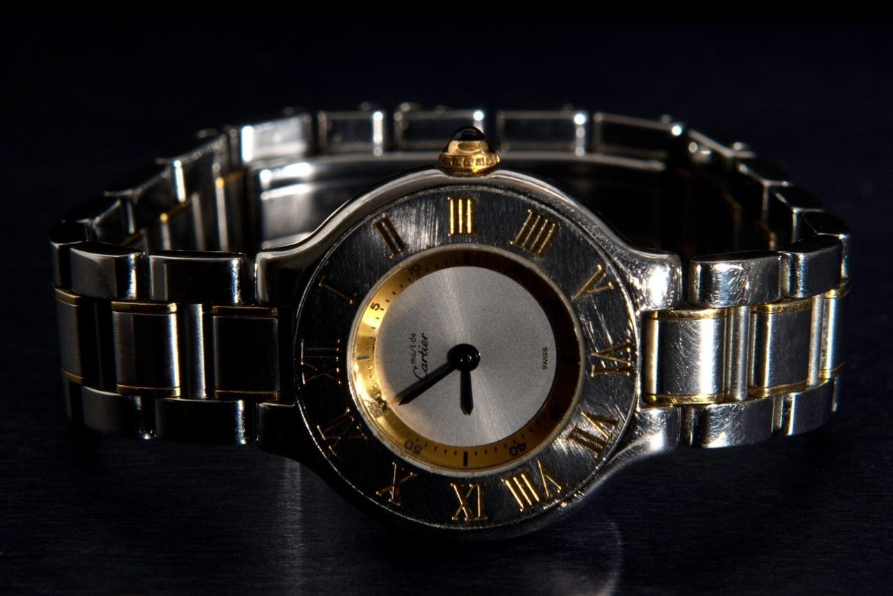 65e9668e47ad SALE. Sale! Home   Women s Watches   Cartier 21 Must ...