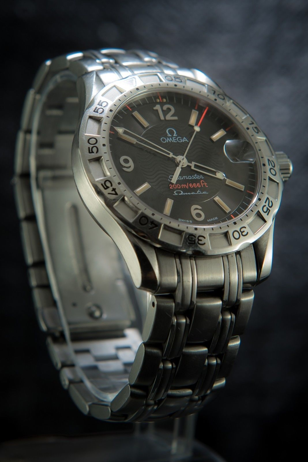 Deluxe Auto Parts >> Omega Seamaster Vintage Hybrid Autoquartz Omegamatic - 2514.50.00 | Pawn Deluxe
